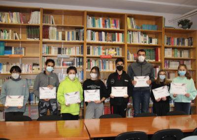 Entrega premios Concurso Literario